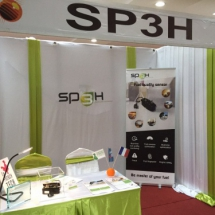 Stand SP3H at the SEMICA